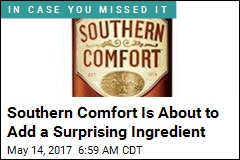 Southern Comfort Is About to Add a Surprising Ingredient