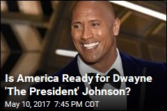 Is America Ready for Dwayne 'The President' Johnson?