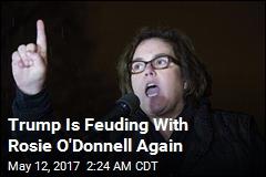 Trump Trolls Rosie O'Donnell on Twitter