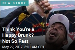 Think You're a Happy Drunk? Not So Fast