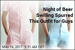 Company Trying to Make Male Rompers a Thing