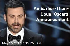 Kimmel Will Return to Host 2018 Oscars