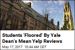 Students 'Floored' By Yale Dean's Mean Yelp Reviews