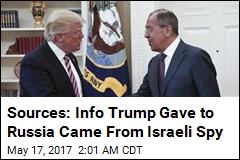 Sources: Trump Shared Israeli Intelligence With Russia