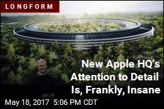 Travel Inside Apple's Singular New HQ