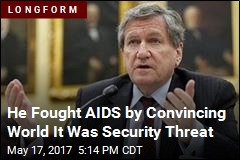 He Fought AIDS by Convincing World It Was Security Threat