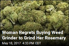 Not the Kind of Herb Amazon Shopper Wanted to Grind