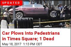 1 Killed as Car Mows Down Times Square Pedestrians