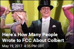 Colbert's Trump Joke Netted Nearly 6K FCC Complaints