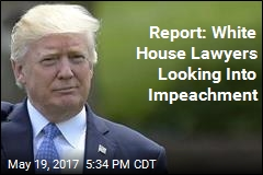 White House Lawyers Consult Impeachment Experts: Report