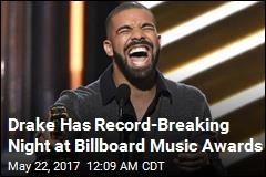 Drake Has Record-Breaking Night at Billboard Music Awards