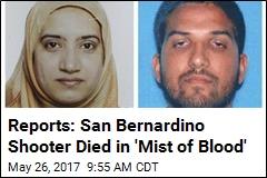 Reports: San Bernardino Shooter Died in 'Mist of Blood'