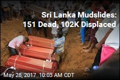 Sri Lanka Mudslides: 151 Dead, 102K Displaced