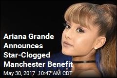 Ariana Grande Announces Star-Clogged Manchester Benefit