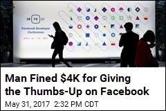 Court Fines Man $4K for 'Liking' Facebook Comments