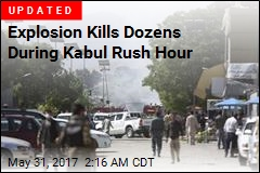 Massive Blast Shakes Kabul's Diplomatic Area