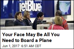 Checking In on JetBlue Flight? You Just Need Your Face