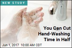 You Can Cut Hand-Washing Time in Half