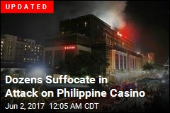 Gunman Storms Philippine Casino in Suspected Robbery