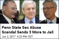 3 Ex-Penn State Officials Sent to Jail in Sandusky Scandal