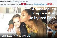 Ariana Thrills Fans With Hospital Stop
