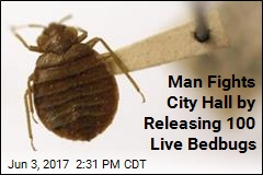Man Releases Live Bedbugs, Shuts Down City Hall