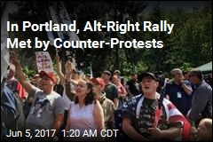 14 Arrested at Dueling Portland Rallies