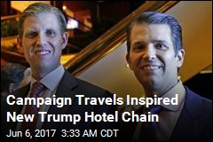Trump Organization Plans New Hotel Chain