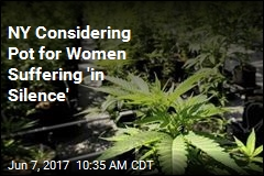 NY Is Considering Pot for Period Pain