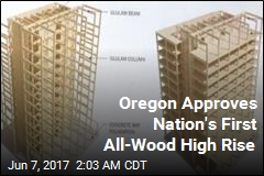 Oregon Approves Nation's First All-Wood High Rise