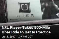 NFL Player Takes 500-Mile Uber Ride to Get to Practice