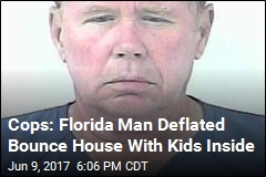 Cops: Florida Man Deflated Bounce House With Kids Inside