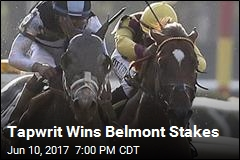 Tapwrit Wins Belmont Stakes