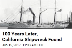 100 Years Later, California Shipwreck Found