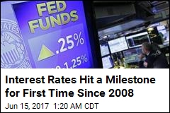 Interest Rates Hit a Milestone for First Time Since 2008