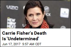 Carrie Fisher Died of Sleep Apnea, Other Causes