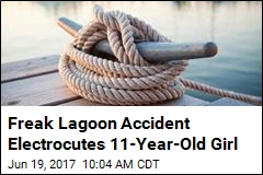 Girl Dies in Lagoon in Freak Accident