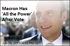 French Vote Gives Macron 'Mandate'