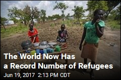 The World Now Has a Record Number of Refugees