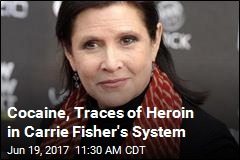 Carrie Fisher Did Cocaine Within 3 Days of Falling Ill