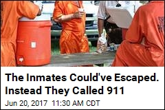 When Their Guard Fell Ill, 6 Inmates Stayed to Help Him