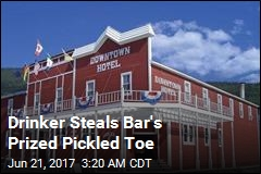 Drinker Steals Bar's Prized Pickled Toe