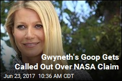 Gwyneth's Goop Gets Called Out by NASA