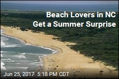 Beach Lovers in NC Get a Summer Surprise