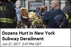 Dozens Hurt in New York Subway Derailment