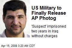 US Military to Finally Release AP Photog