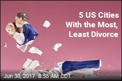 5 US Cities With the Most, Least Divorce
