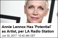 Annie Lennox Posts 'Scam' Letter for Fun—and as Warning