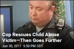 Police Officer Adopts Victim of Child Abuse
