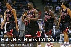 Bulls Best Bucks 151-135